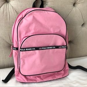 POLO Bubblegum Pink Backpack